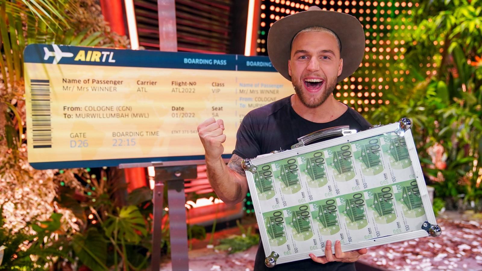Dschungelshow-Gewinner Filip Pavlovic