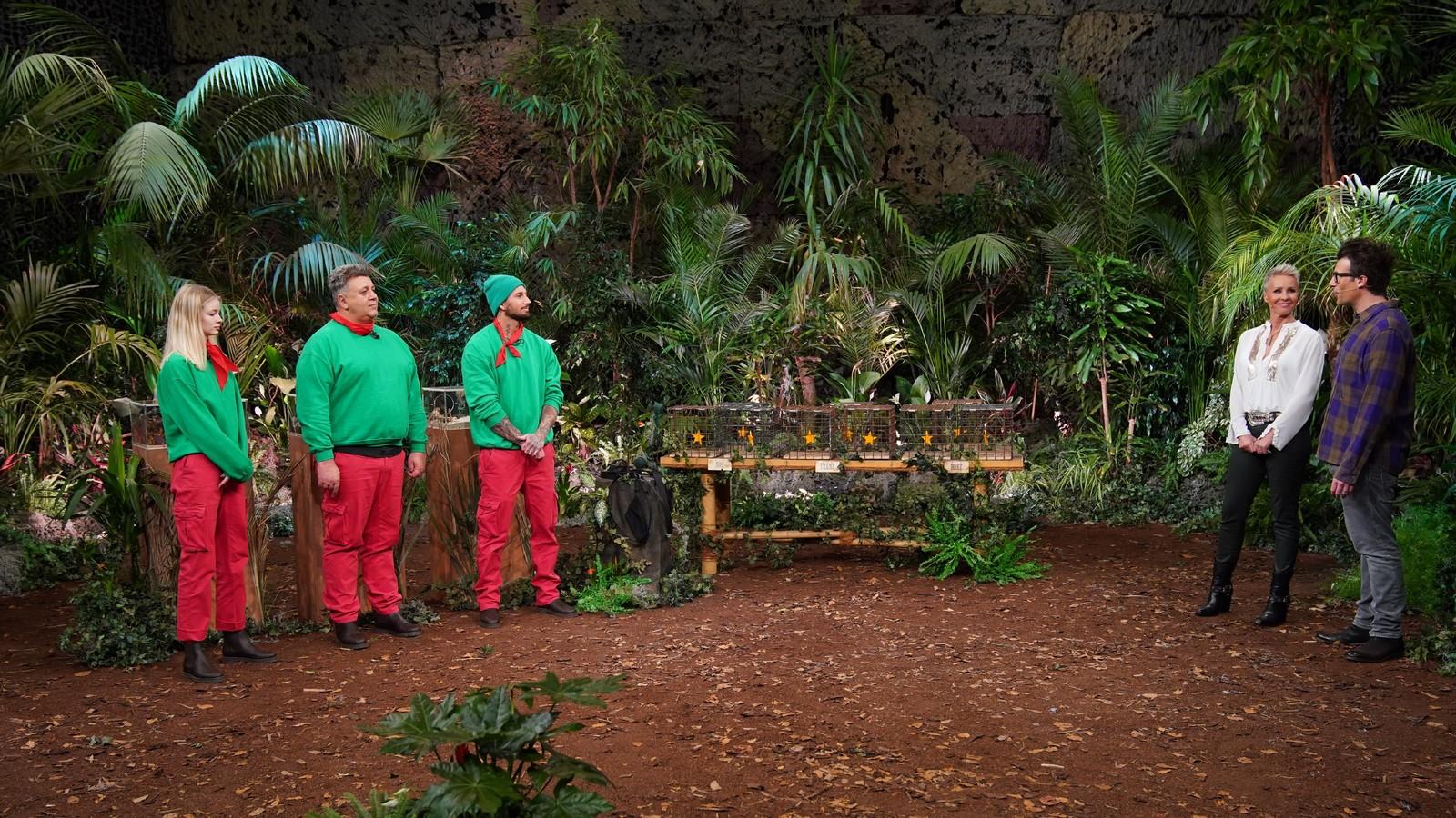 Zoe Saip, Frank Fussbroich und Mike Heiter in der Dschungelshow