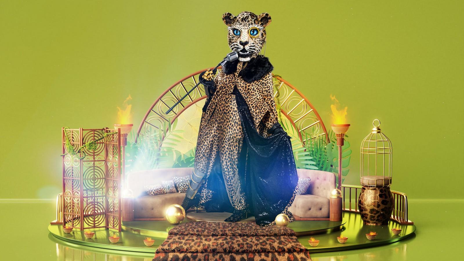 Der Leopard bei