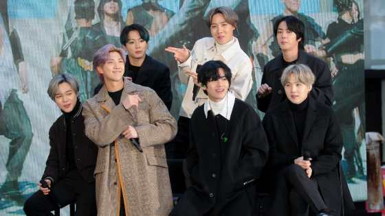 MTV-Unplugged wird für BTS zum vollen Erfolg