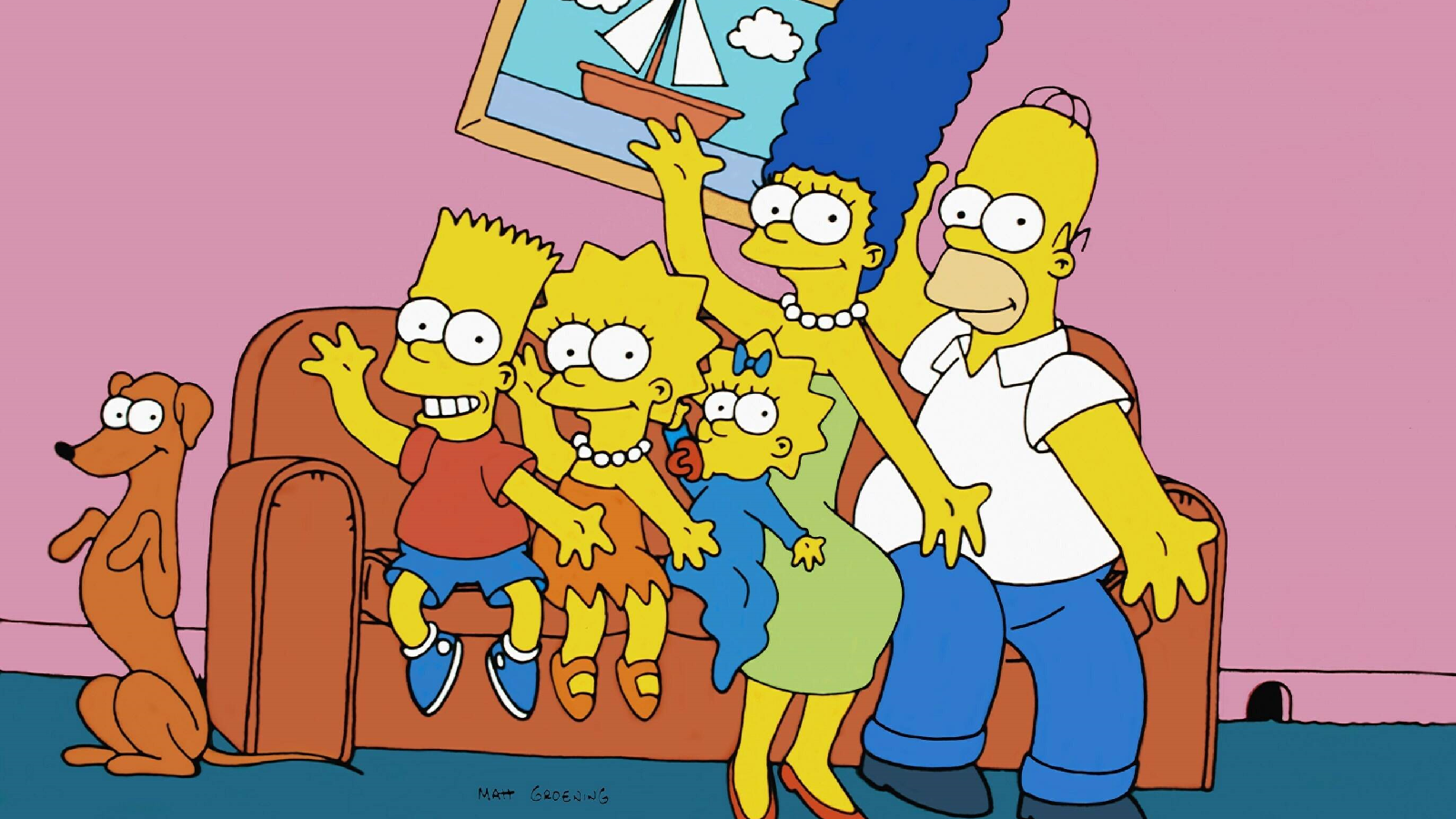 Darum sind die Simpsons gelb