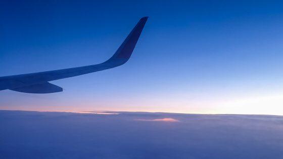 Sterne Flugzeug Himmel