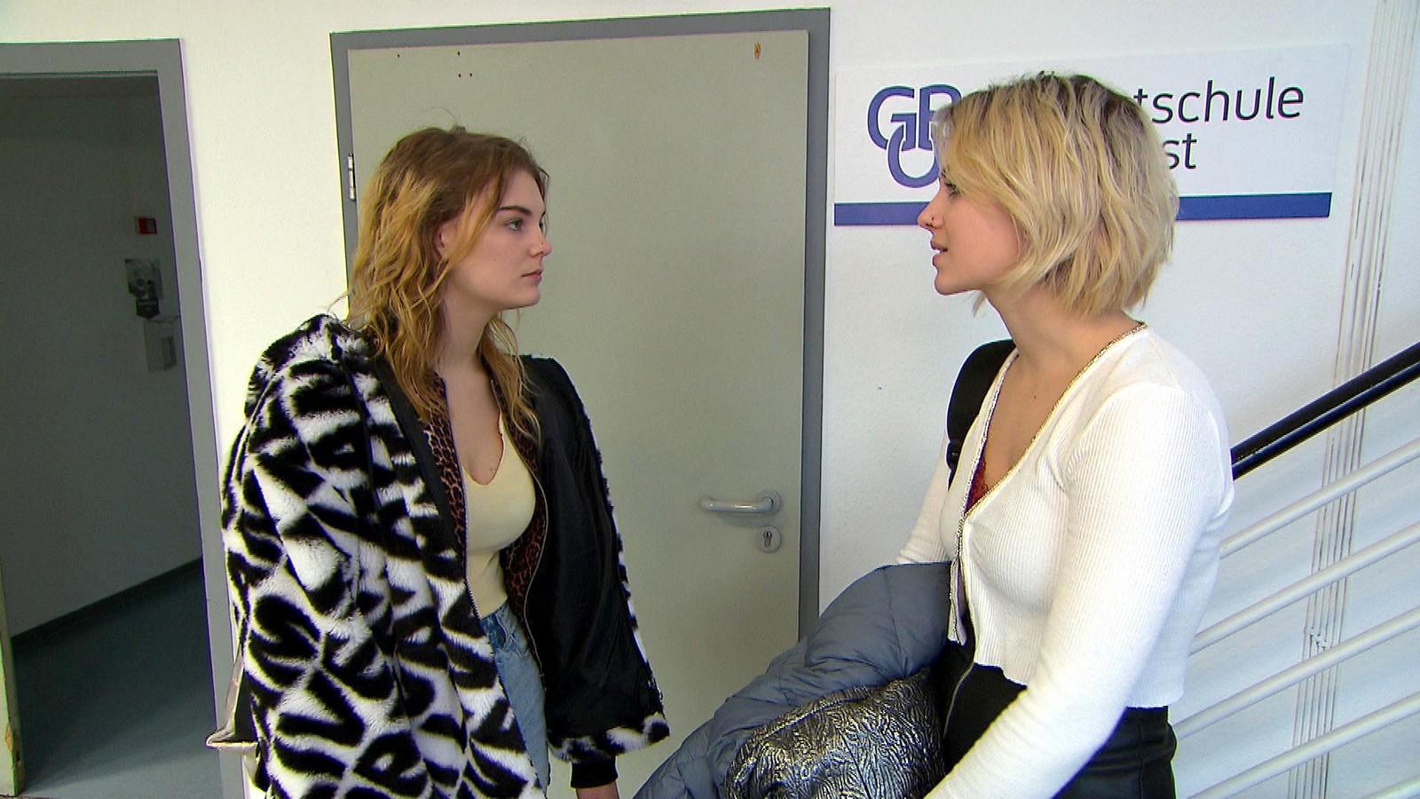 Lynn und Amelie bei