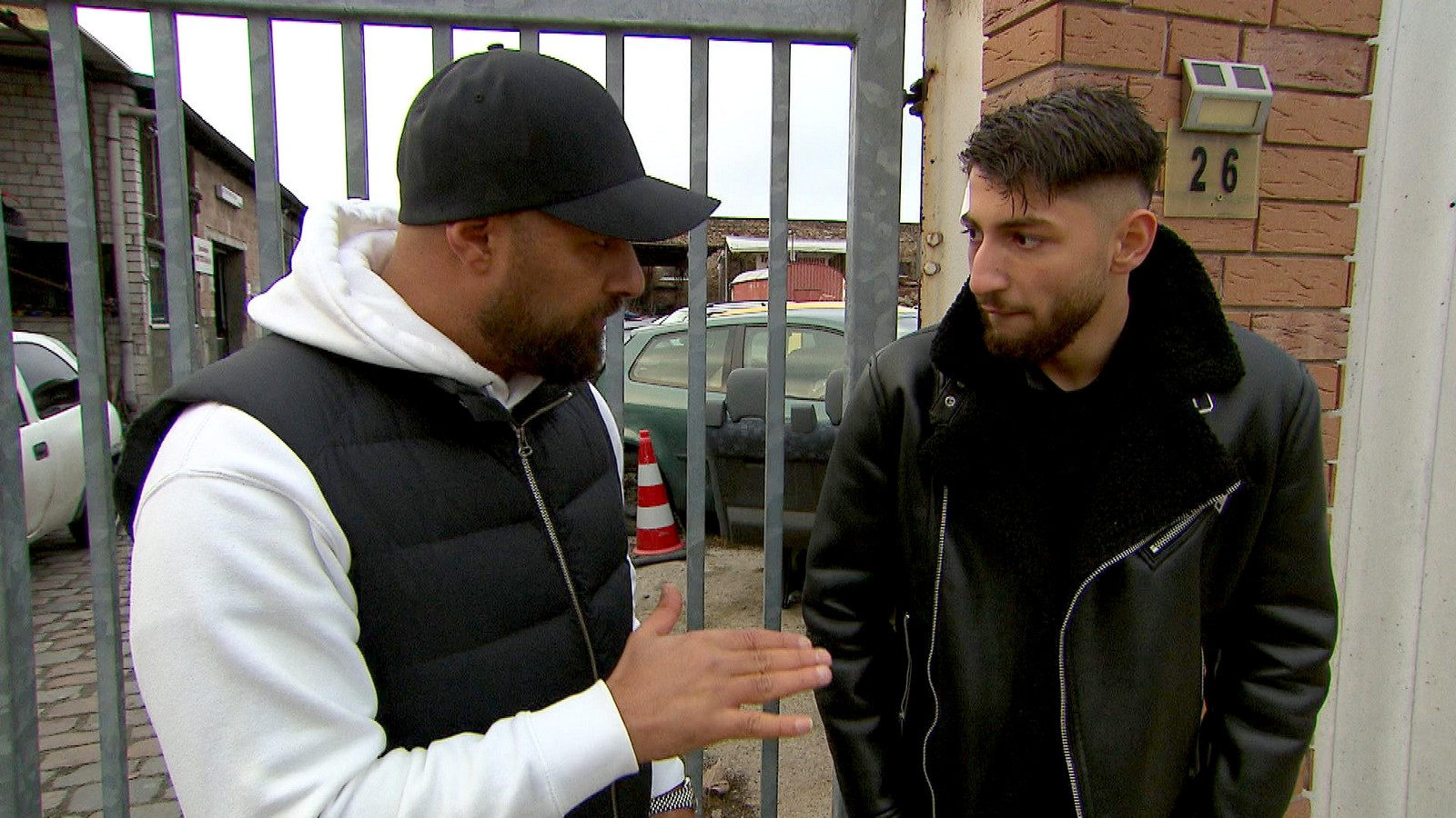 Hassan und Dean bei