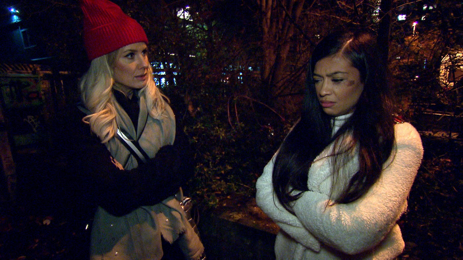 Meike und Samantha bei