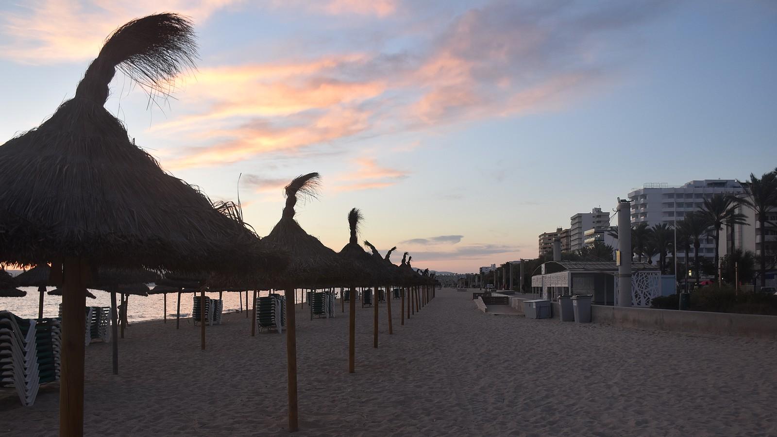 Playa de Palma in Mallorca