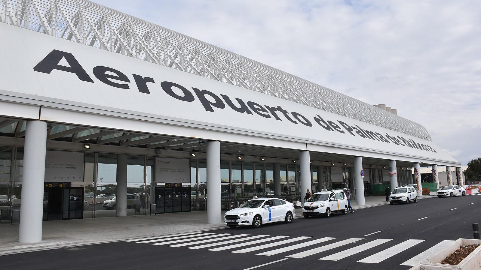 Airport in Palma auf Mallorca