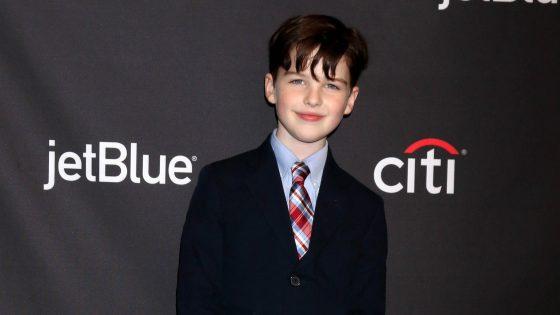 """Young Sheldon""-Star Iain Armitage"