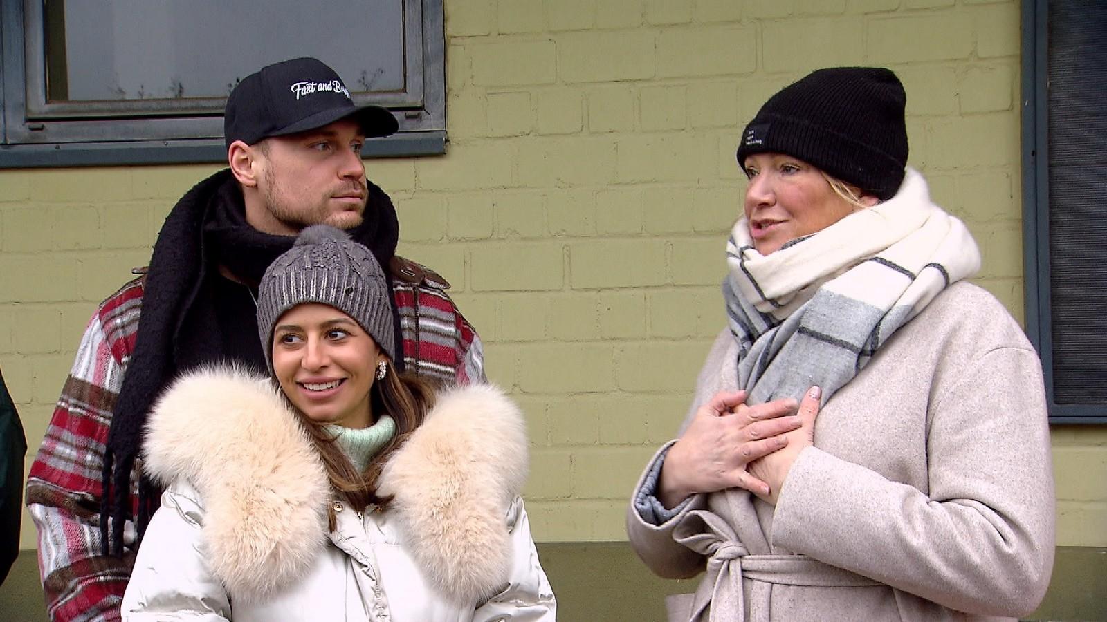 Eva, Chris & Leonard bei