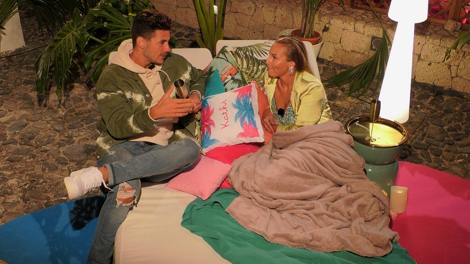 Kathia und Adriano bei