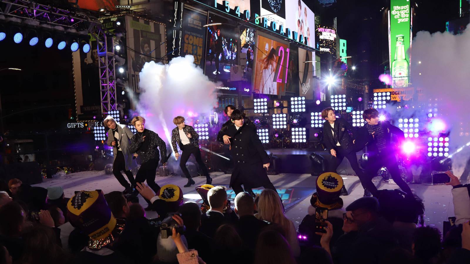 BTS weiter auf Erfolgskurs