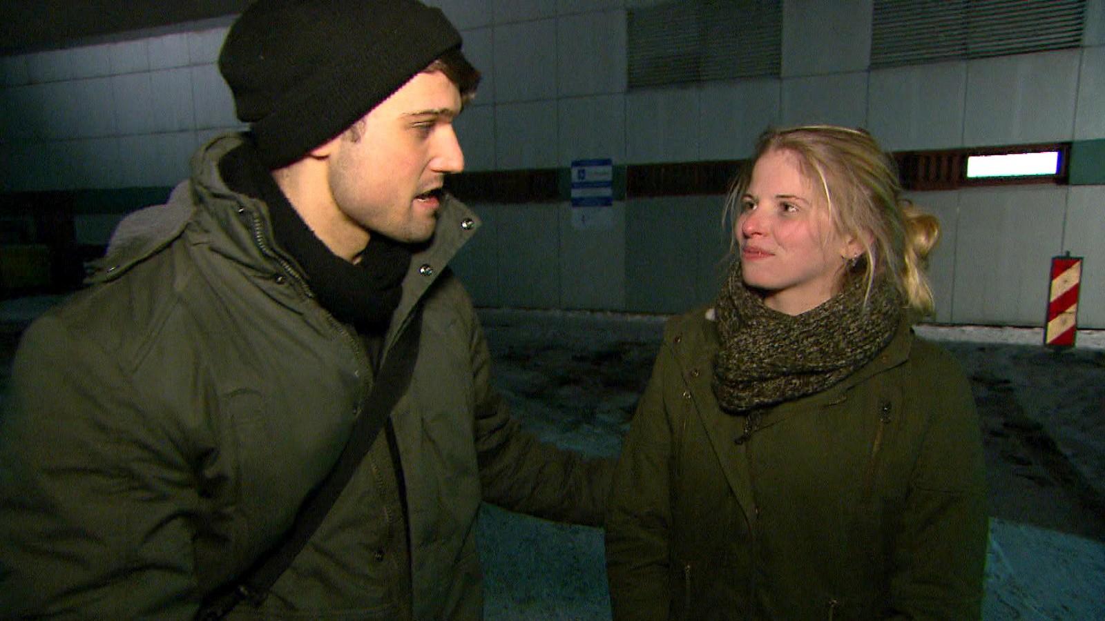 """Aaron und Toni bei """"Berlin - Tag & Nacht"""""""