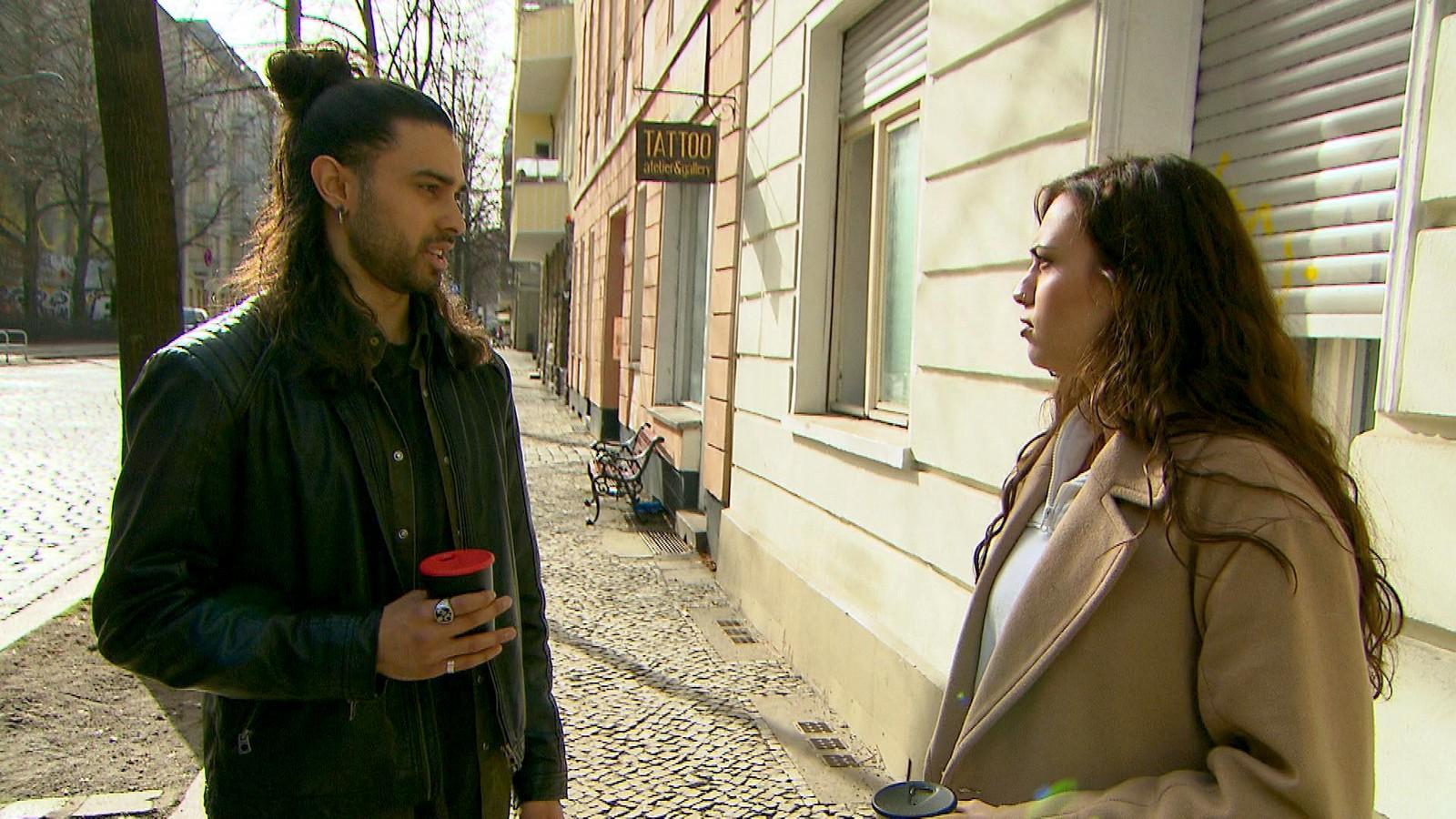 """Miguel und Olivia bei """"Berlin - Tag & Nacht"""""""