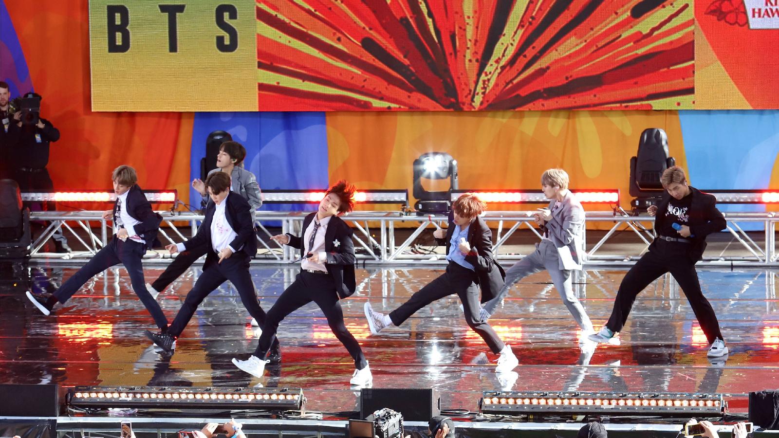 BTS setzt Zeichen gegen Rassismus