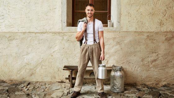 """Die Alm""-Kandidat Aaron Hundhausen"
