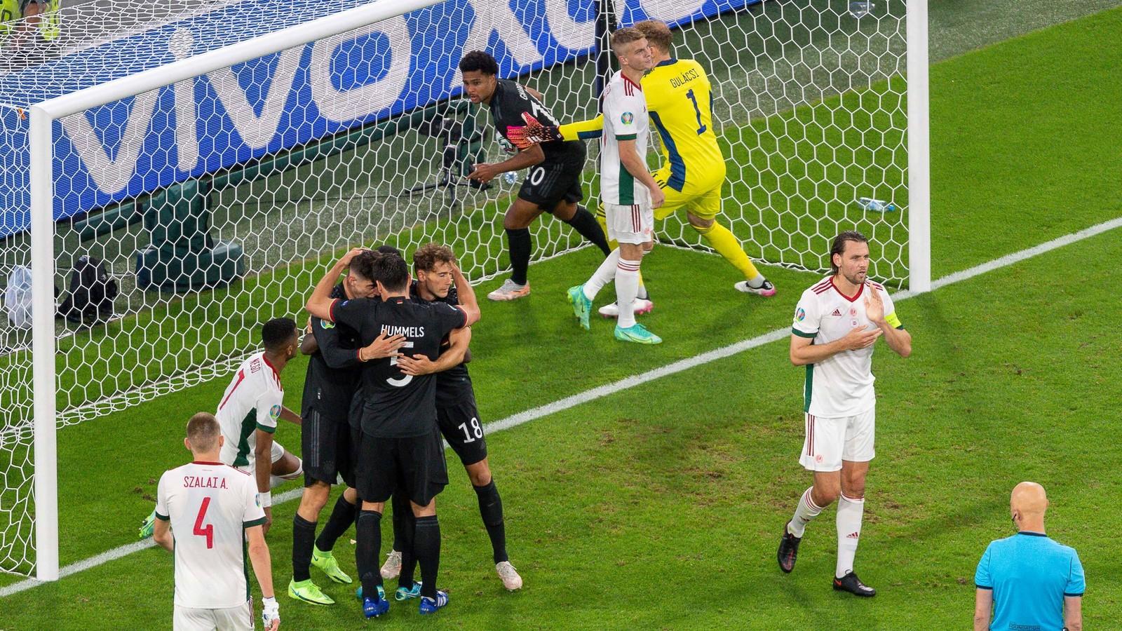 Deutschland gegen Ungarn bei der Fußball-WM 2021