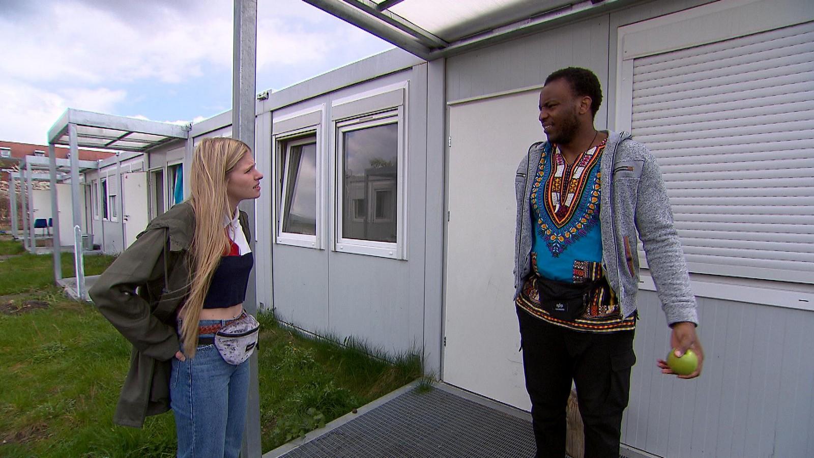 Toni und Patrice bei