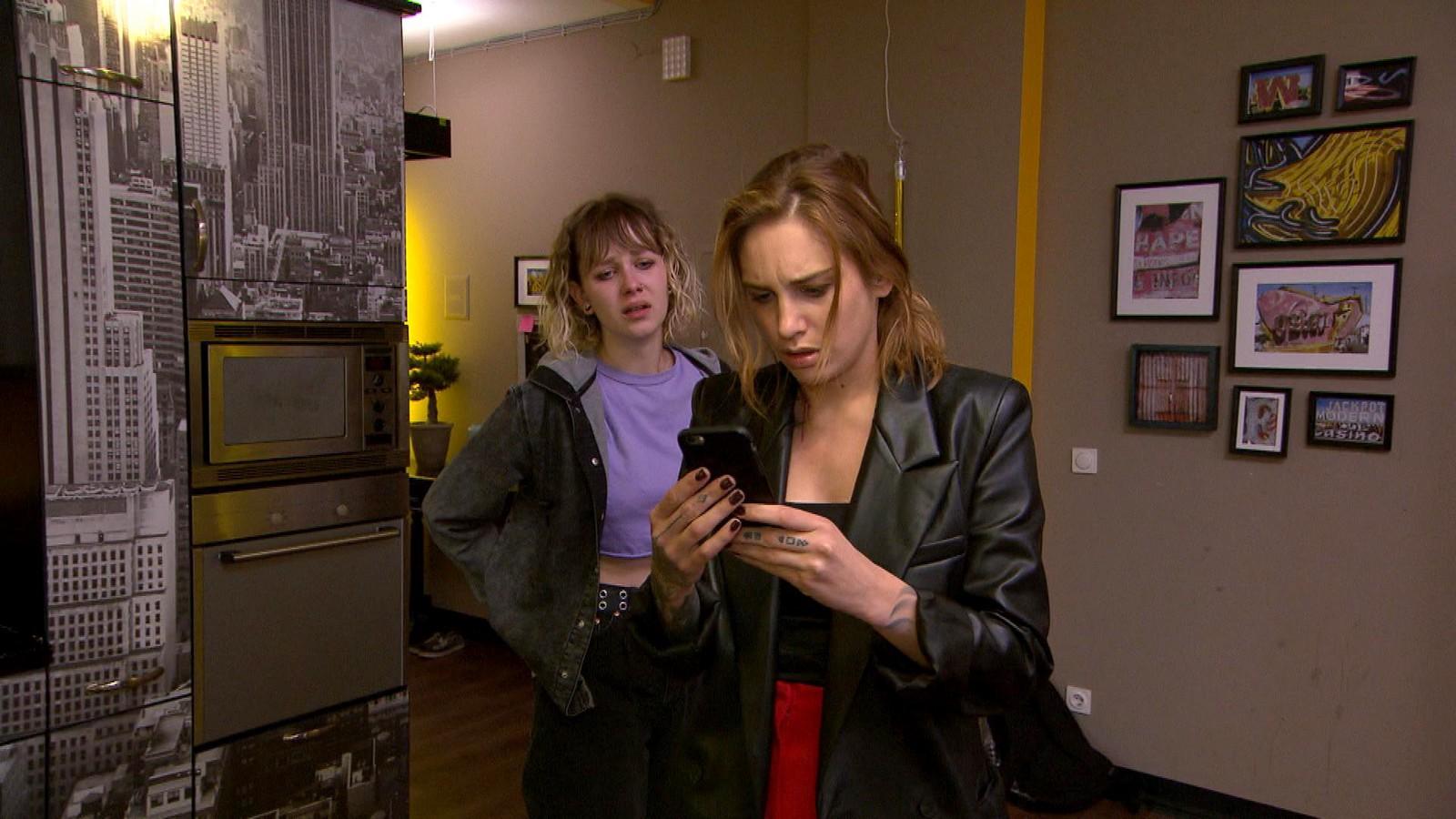 Amelie und Milla bei