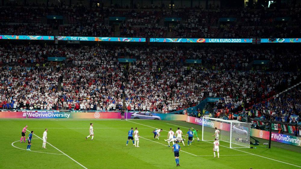 Italien gegen England im EM-Finale