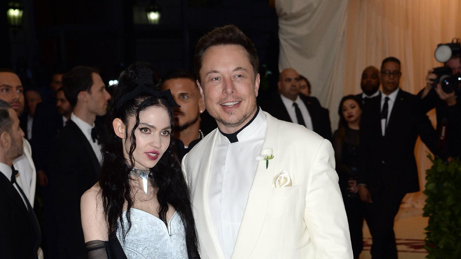 """Elon Musk """"halbgetrennt"""" von Grimes"""