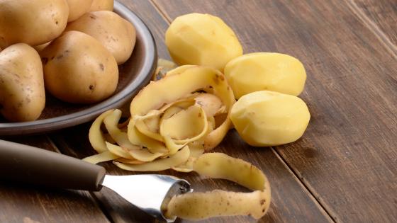 Das kann man mit Kartoffelschalen machen