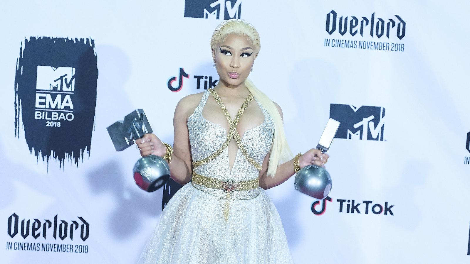 Nicki Minaj mit Coronavirus infiziert