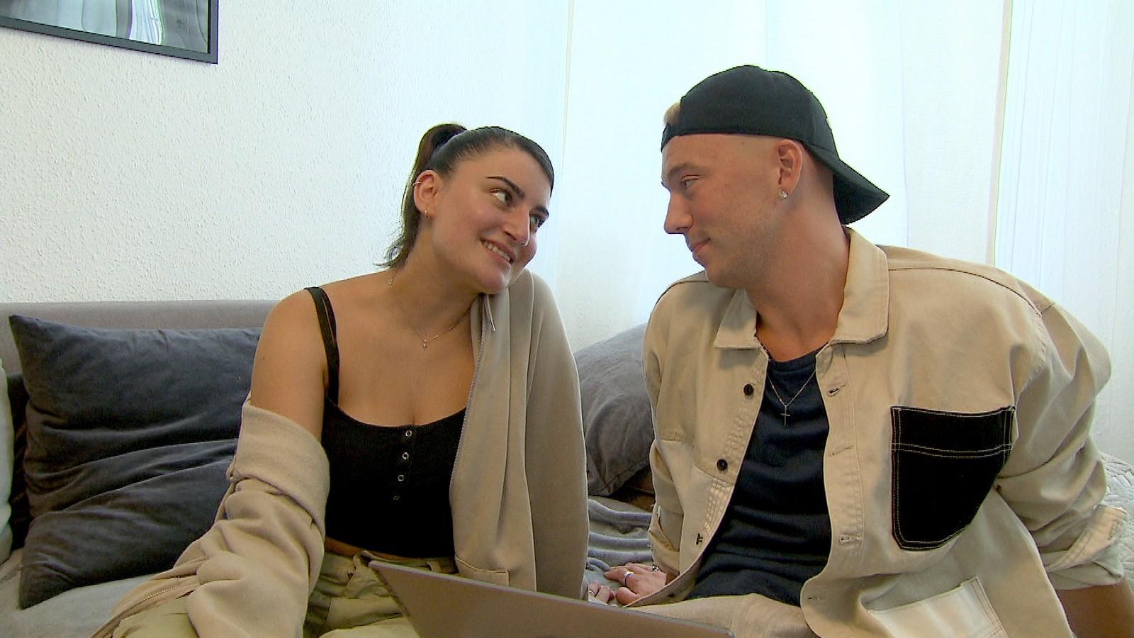 """Liz und Connor bei """"Berlin - Tag & Nacht"""""""
