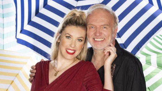 """Roland Heitz und Janina Korn im """"Sommerhaus der Stars"""""""