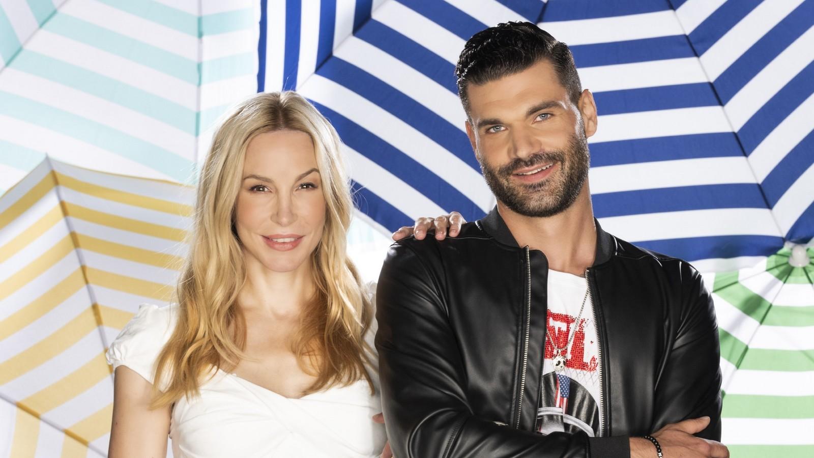 """Michelle Monballijn und Mike Cees-Monballijn im """"Sommerhaus der Stars"""""""